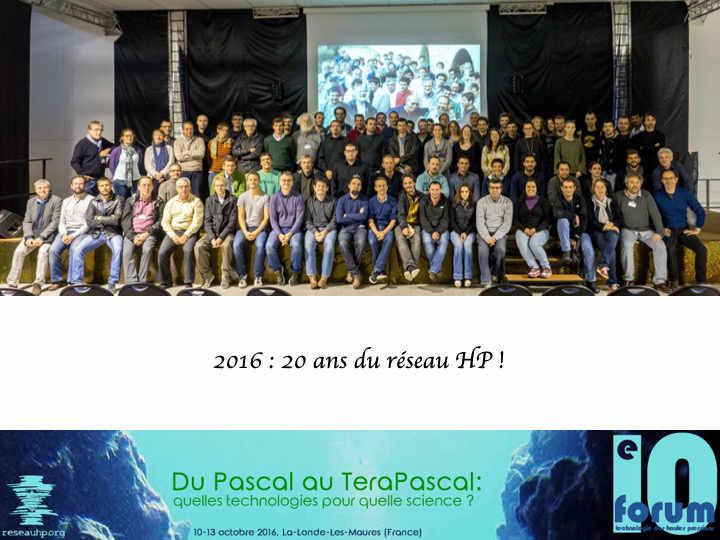 10e Forum, La Londe Les Maures, 2016