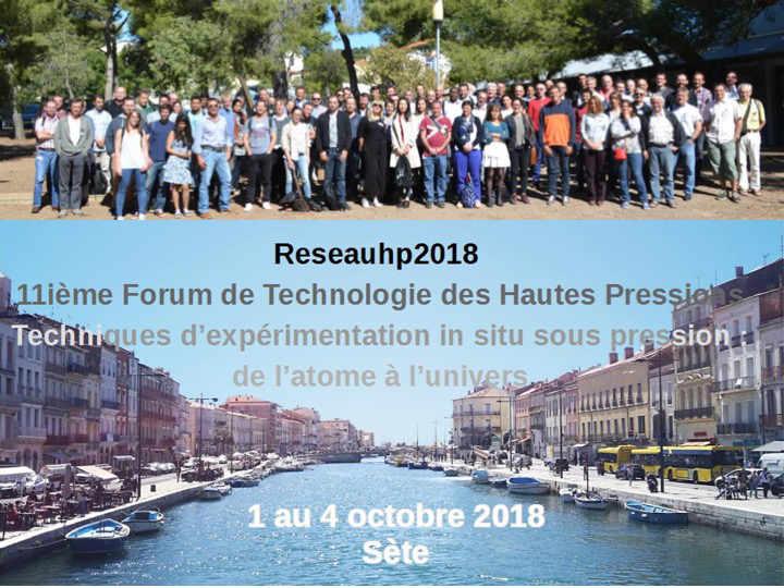 11e Forum, Sète, 2018