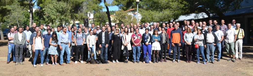 Photo groupe 11e forum Sète, Oct 2018
